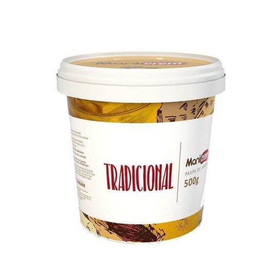 Pasta De Amendoim Integral (500G) - Manicrem -