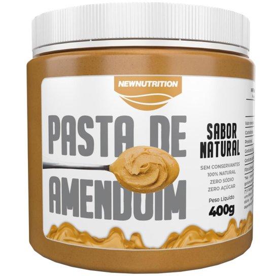 Pasta de amendoim integral 400g NewNutrition -