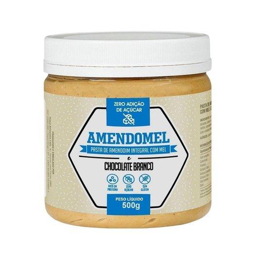 Pasta de Amendoim Integral Com C/ Mel 500g -