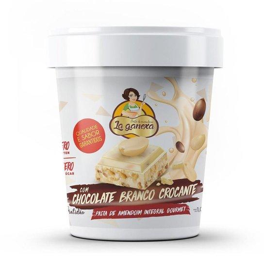Pasta de Amendoim Integral Gourmet 1kg La Ganexa -
