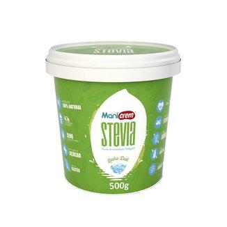 Pasta De Amendoim Integral Stevia (500G) - Manicrem