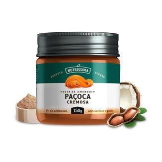 Pasta de Amendoim Nutríssima - 150g Paçoca Cremosa
