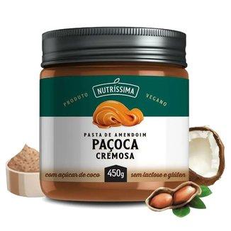 Pasta de Amendoim Nutríssima - 450g Paçoca Cremosa