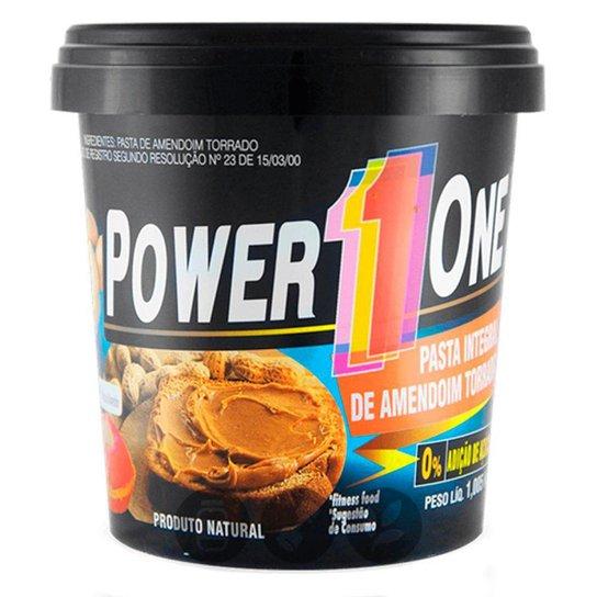 Pasta De Amendoim Power One Integral 0% De Acucar 1 Kg -
