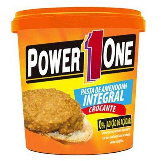 Pasta De Amendoim Power One Integral Crocante 0% De Acucar 1 Kg -