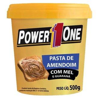 Pasta de Amendoim Power1One 500g