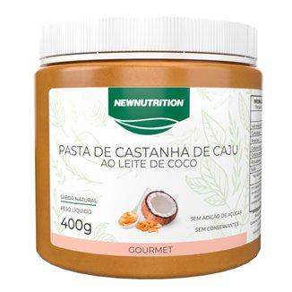 Pasta de Castanha de Caju com Leite de Coco 400g NewNutrition