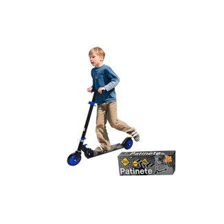 Patinete Infantil Ajustável Radical 2 Rodas Dobrável - Dm Toys