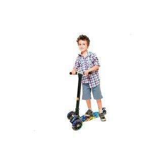 Patinete Infantil Ajustável Radical Flash Com Luz Dm Toys