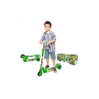 Patinete Infantil Radical New Top Dinossauro - Dm Toys