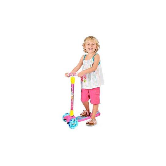 Patinete Infantil Sonho De Princesa Com Acessórios - Dm Toys - Rosa