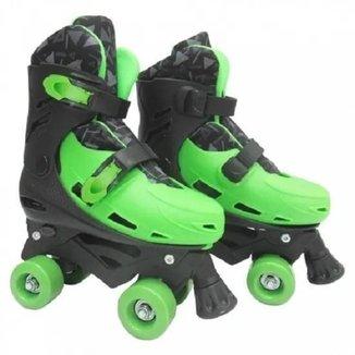 Patins 4 Rodas Roller Ajustavel Tamanho 37-40 Dm Toys