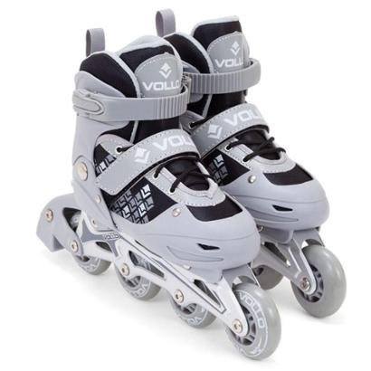 Patins In Line Ajustavel Chassis De Aluminio Vollo