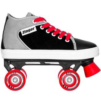 Patins Infantil Quad Roller Derby Zinger Boy