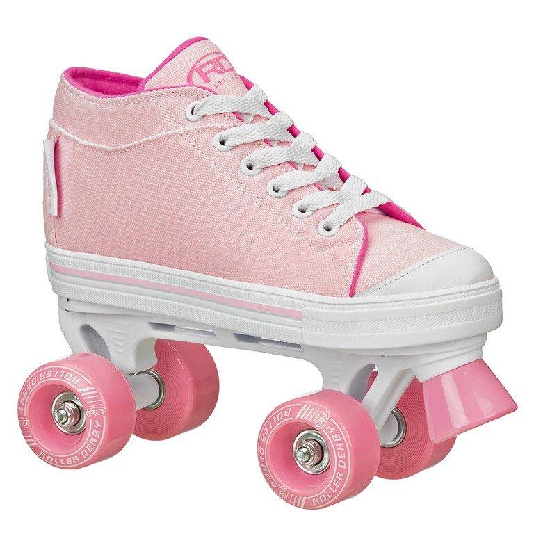 Patins Infantil Quad Roller Derby Zinger Girl F17 - Rosa - Compre Agora  c572c9602f1