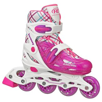 Patins Infantil Roller Derby Inline Harmony Girl W149G