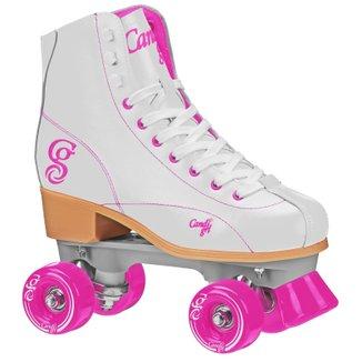 Patins Quad Elite Roller Derby Candi Girl Sabina White