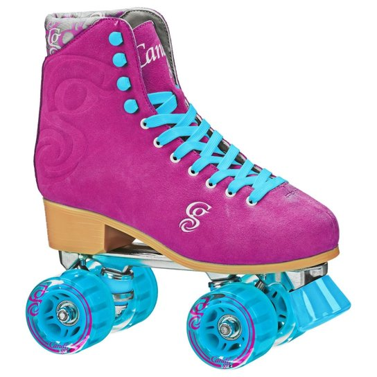 Patins Quad Roller Derby Candi Girl Carlin Raspberry - Pink+Azul