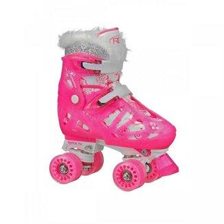 Patins Roller Derby Princess - Quad ABEC 5 Ajustável W347G