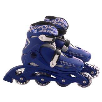 Patins Roller In-Line Radical Ajustável