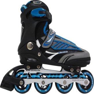 Patins Rollers B Future Inline Bel Sports Azul