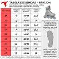 Patins Traxart Recreação Traxion Cinza - Rodas 80mm ABEC-5