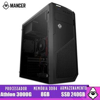 PC Computador Mancer, AMD Athlon 3000G, 8GB, SSD 240GB