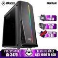 PC Gamer i5-3470, H61, GTX 1050 Ti 4GB, 16GB DDR3, 240GB, 400W