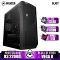 PC Gamer Mancer, AMD Ryzen 3 2200G, 8GB DDR4, SSD 120GB, 400W