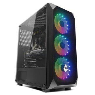 PC Gamer Mancer, AMD Ryzen 5 3600, GeForce GTX 1050 Ti 4GB, 16GB DDR4, SSD 240GB, 400W