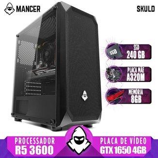 PC Gamer Mancer, AMD Ryzen 5 3600, GeForce GTX 1650 4GB, 8GB DDR4, SSD 240GB, 400W