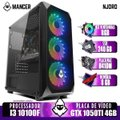 PC Gamer Mancer, Intel I3 10100F, GTX 1050Ti 4GB, 8GB DDR4, SSD 240GB, 400W