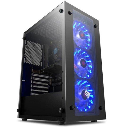 PC Gamer Mancer, Intel i3-3240, GT 1030 2GB, 16GB DDR3, HD 1TB, 500W - Preto