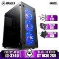 PC Gamer Mancer, Intel i3-3240, GT 1030 2GB, 16GB DDR3, HD 1TB, 500W