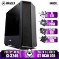PC Gamer Mancer, Intel i3-3240, GT 1030 2GB, 16GB DDR3, HD 1TB + SSD 120GB, 500W