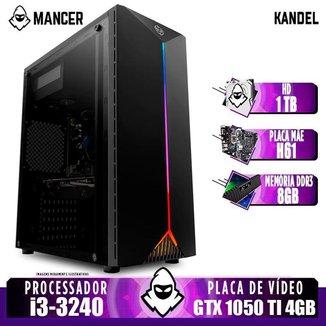 PC Gamer Mancer, Intel i3, GTX 1050 Ti 4GB, 8GB DDR3, HD 1TB, 400W