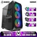 PC Gamer Mancer, Intel i5-3470, GTX 1050 Ti 4GB, 8GB DDR3, SSD 120GB, 400W