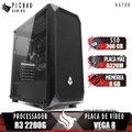 PC Gamer Pichau Hator, AMD Ryzen 3 2200G, 8GB DDR4, SSD 240GB, 400W