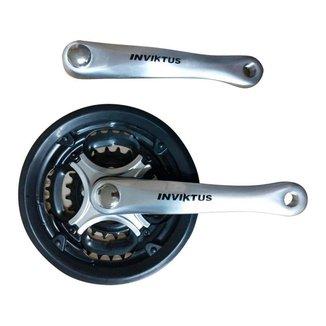 Pedivela de Aluminio Ponta Quadrada Invictus 24/34/42 175mm