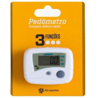 Pedômetro Digital AX Esportes com 3 Funções - FA507
