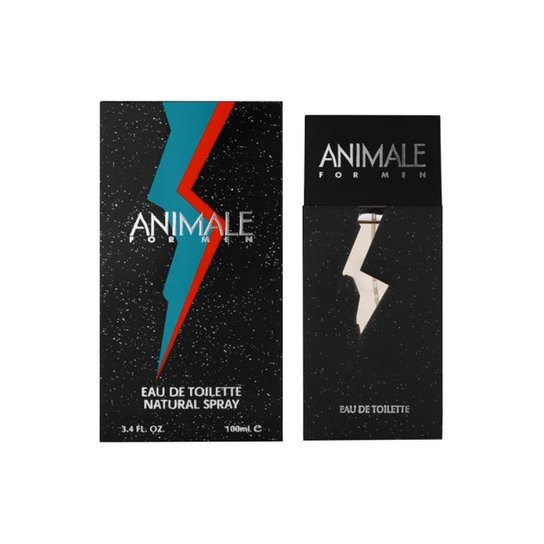 Perfume Animale Pour Homme EDT 100ml - Incolor