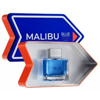 Perfume Blue Seduction World Men Malibu ( Lata ) 100 ml