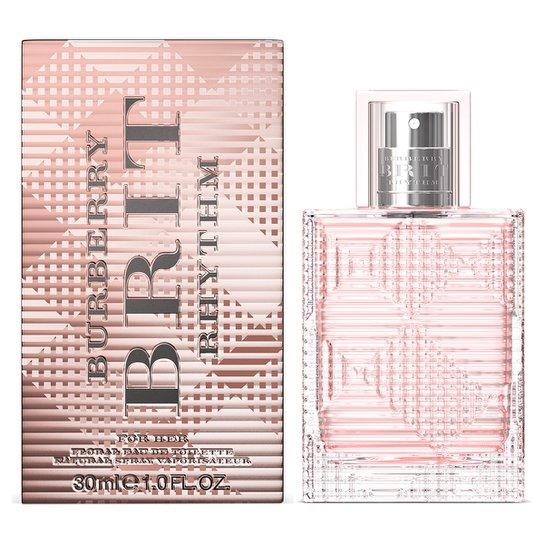 Perfume Brit Rhythm Women Floral Feminino Burberry Eau de Toilette 30ml - Incolor