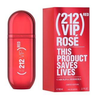 Perfume Carolina Herrera 212 Vip Rosé (RED) Eau de Parfum Feminino 80ml