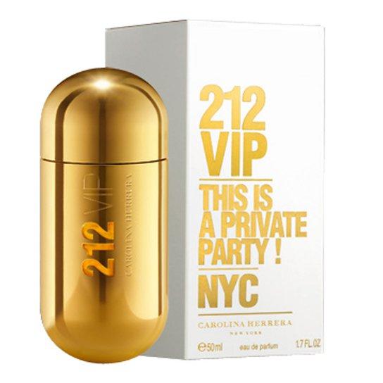 Perfume Feminino 212 VIP Carolina Herrera Eau de Parfum 50ml - Incolor