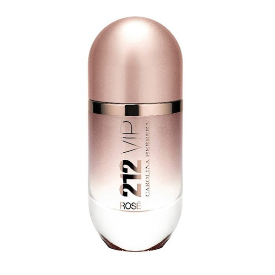 Perfume Feminino 212 VIP Rosé Carolina Herrera Eau de Parfum 80ml - Incolor