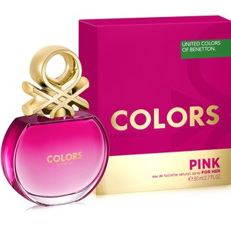 Perfume Feminino Colors Pink Benetton Eau de Toilette 80ml