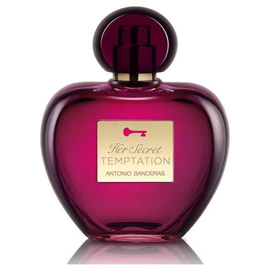 Perfume Feminino Her Secret Temptation Antonio Banderas Eau de Toilette 80ml - Incolor