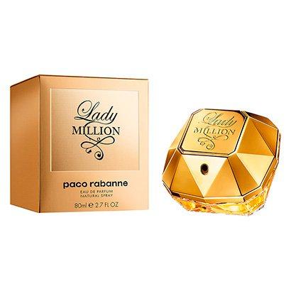 Perfume Feminino Lady Million Paco Rabanne Eau de Parfum 80ml