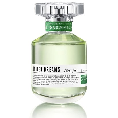 Perfume United Dreams - Live Free - Benetton - Eau de Toilette Benetton Feminino Eau de Toilette
